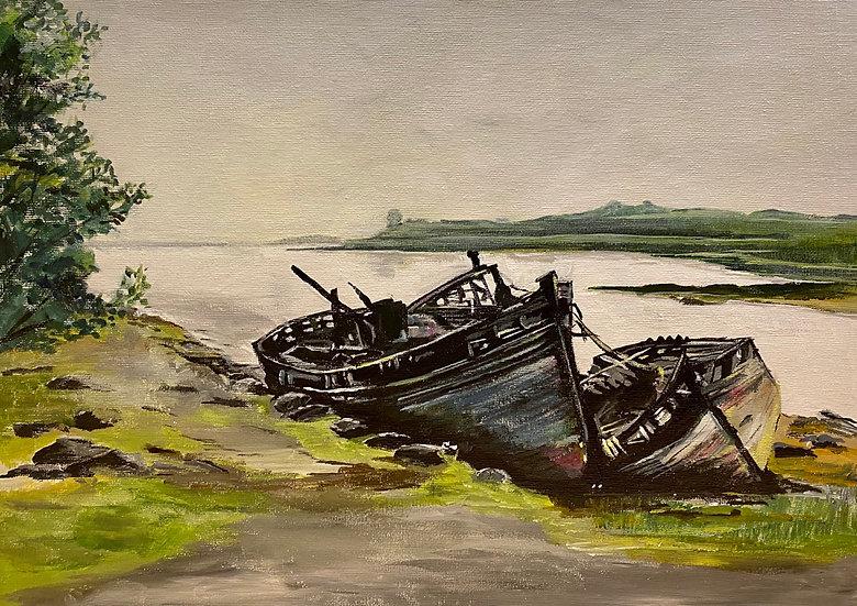 "'Wrecked"" Isle of Mull"