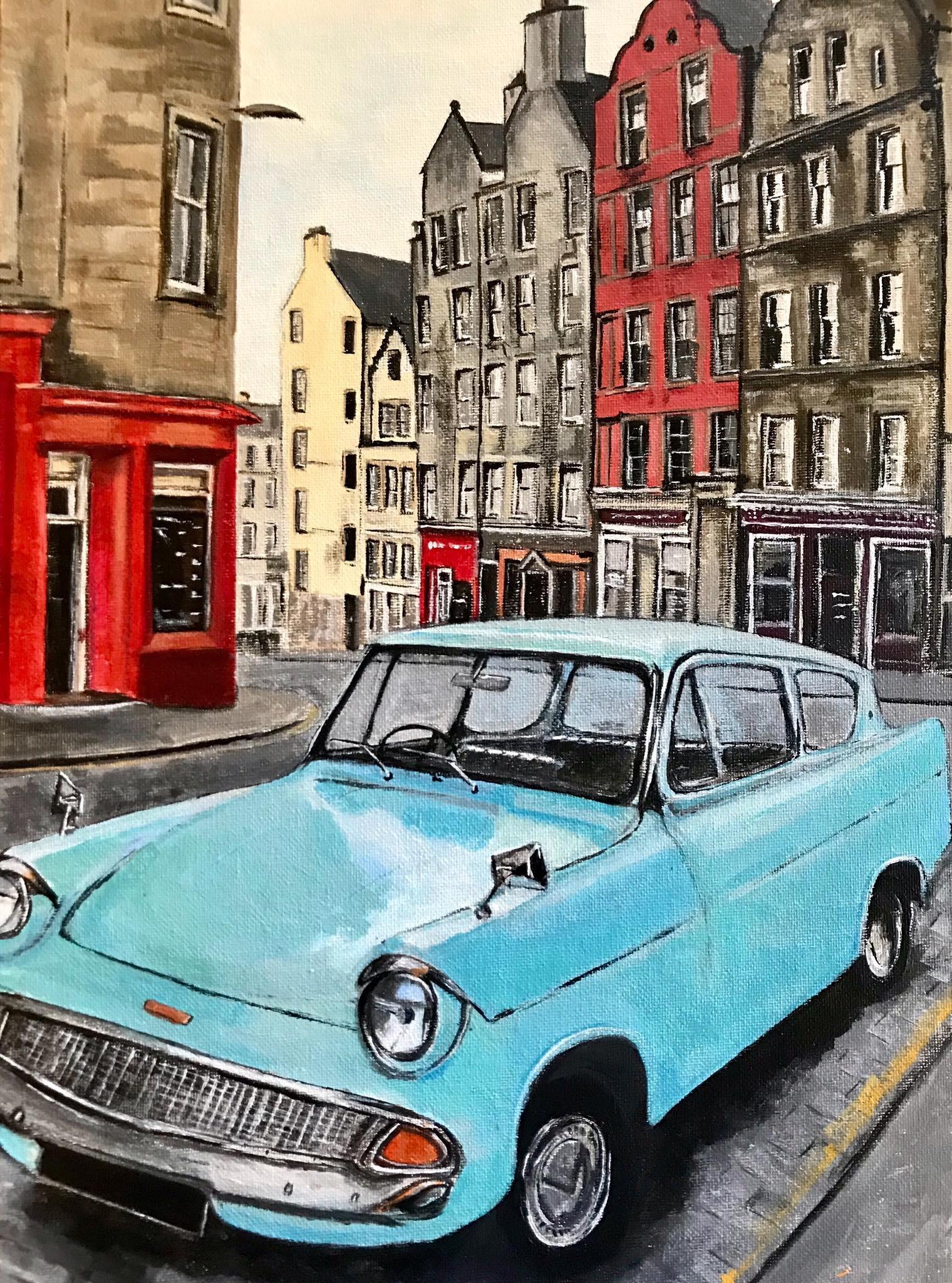 Ford Anglia, Edinburgh