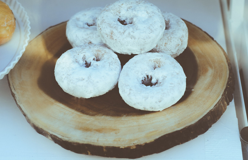 Donuts are a great budget-saving option (and they look fantastic in our window!).