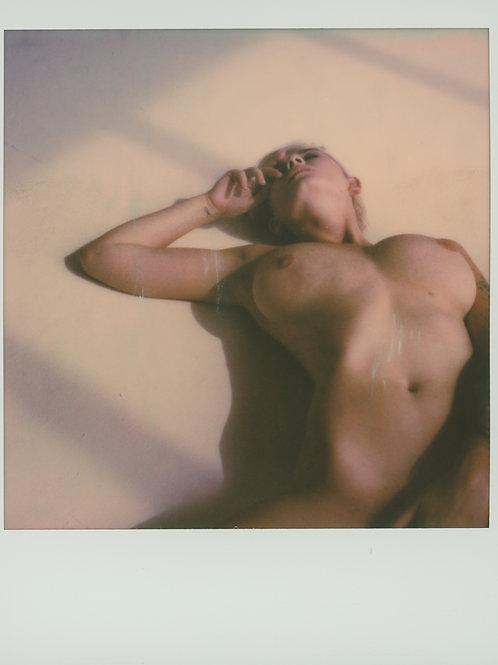 Original Polaroid  Art Nude by Dirk Haas