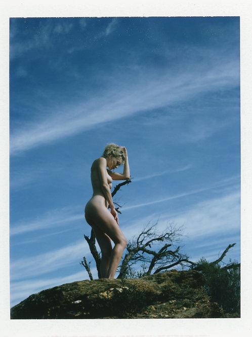 Fujifilm 100c Glossy Polaroid Nude Art
