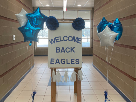 Welcome Back, Eagles!