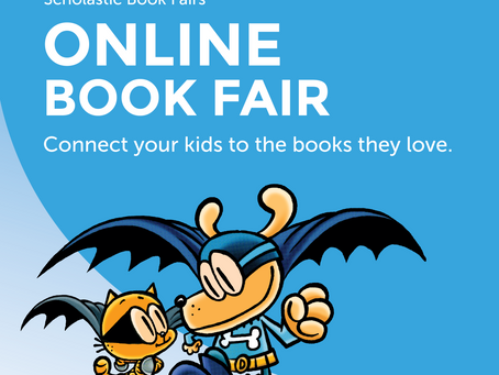 Our Virtual Book Fair Begins Tomorrow!