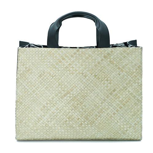 Klasik Tote Bag Black Nappa - Large
