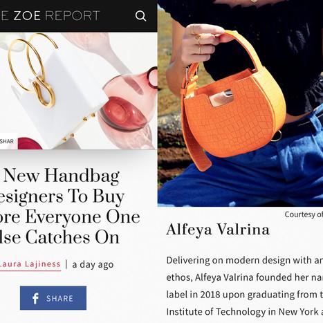 Zoe Report