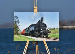 Foto-obraz lokomotíva