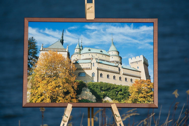 Foto-obraz Bojnický hrad