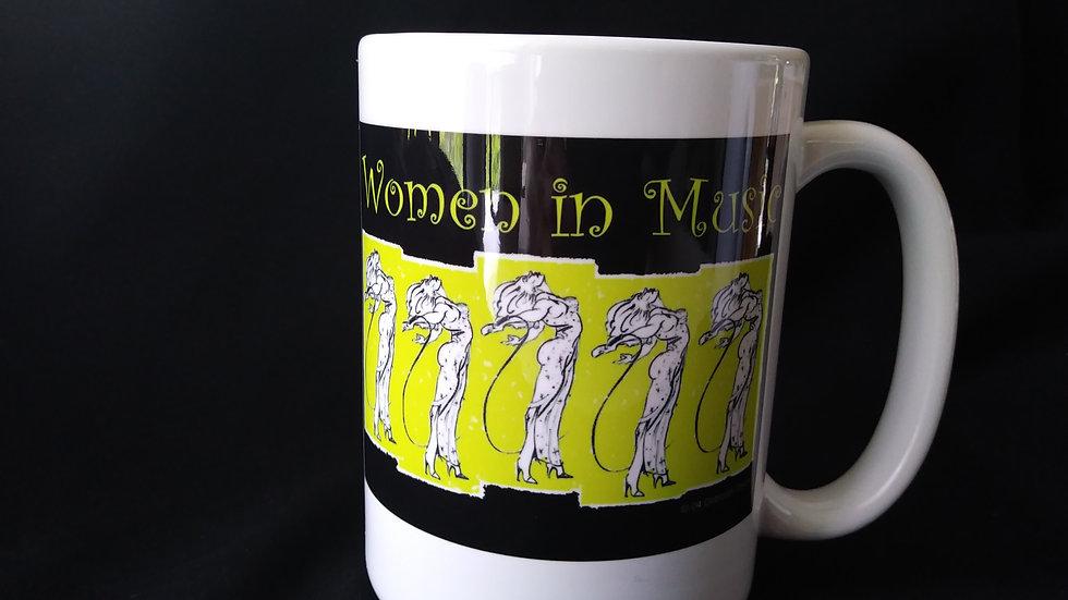 Women in Music Mug