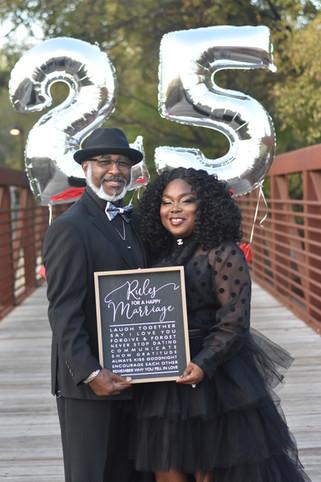25th annversary ideas and photographer near me- Killeen Texas