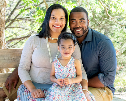 family of 3 portrait - Michael Anthony's Portraits