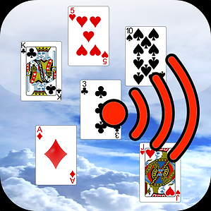 Falling Cards Icon