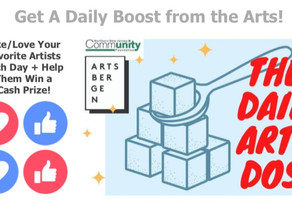 'The Daily Art Dose' featuring Yours Truly!