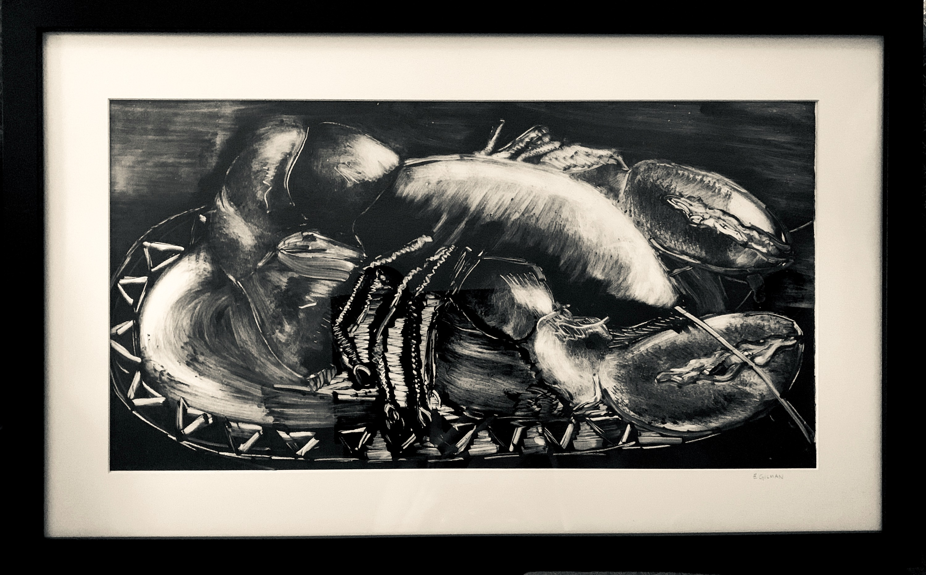 Lobster - Framed