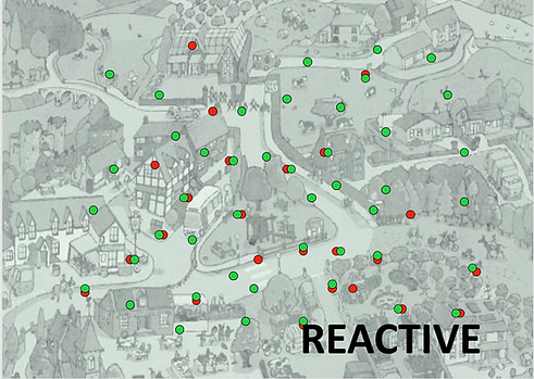 Reactive violence prevention with Green Dot