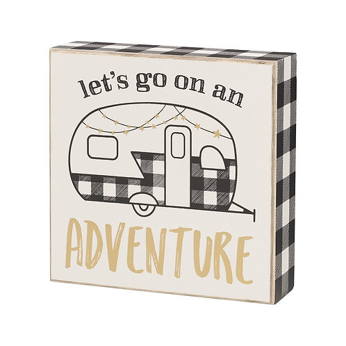 ADVENTURE Box Sign