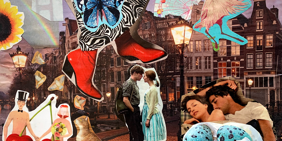 Kissing the Muse: Collage & Mixed-Media Course
