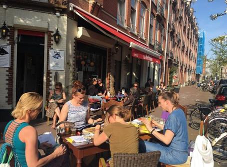 Sun-Kissed Musing in Amsterdam
