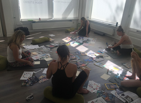Musing on the Mat: Art & Yoga at Tula