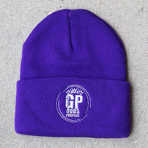 Purple Sweater Hat