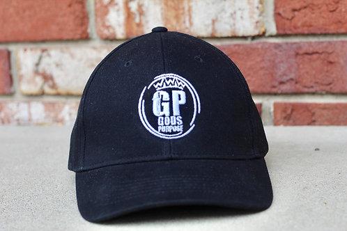 Black Structured Dad's Hat