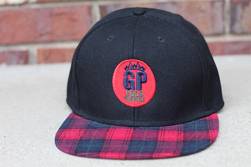 Plaid God's Purpose Apparel Snapback Hat