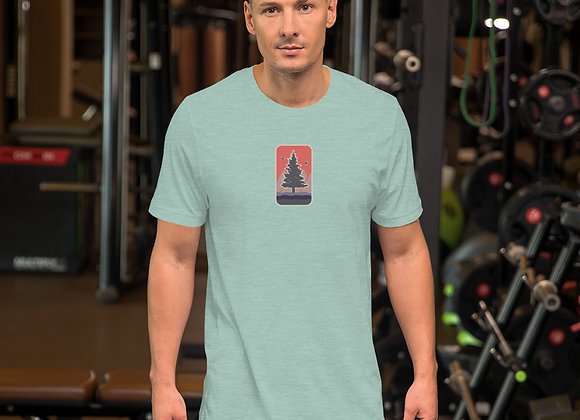 Coral Center Short-Sleeve Unisex T-Shirt