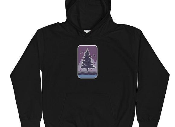 Kids Purple Logo Hoodie