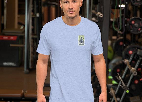 Green Logo Short-Sleeve Unisex T-Shirt