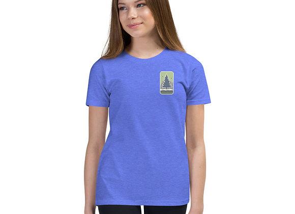 Green Logo Youth Short Sleeve T-Shirt