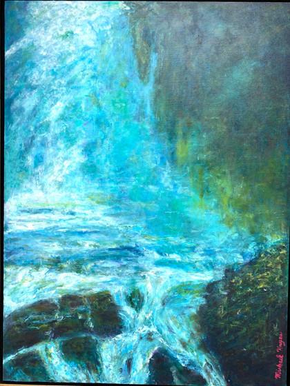 Force of Cawtwba Falls