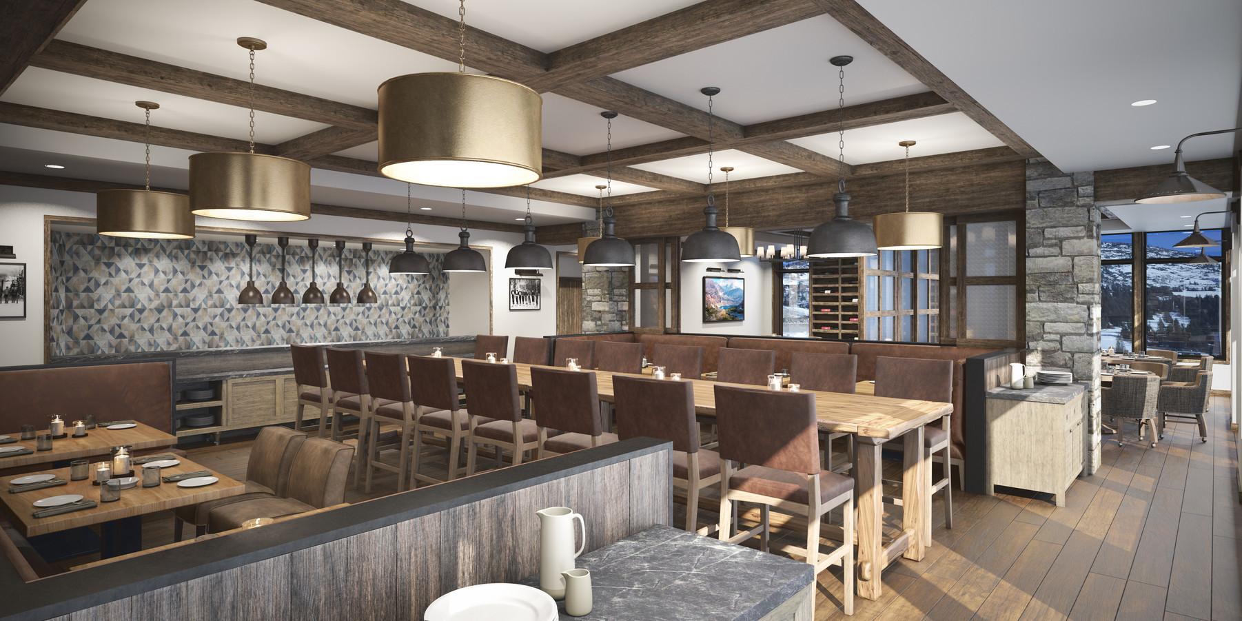 The Snowpine Lodge Restaurant