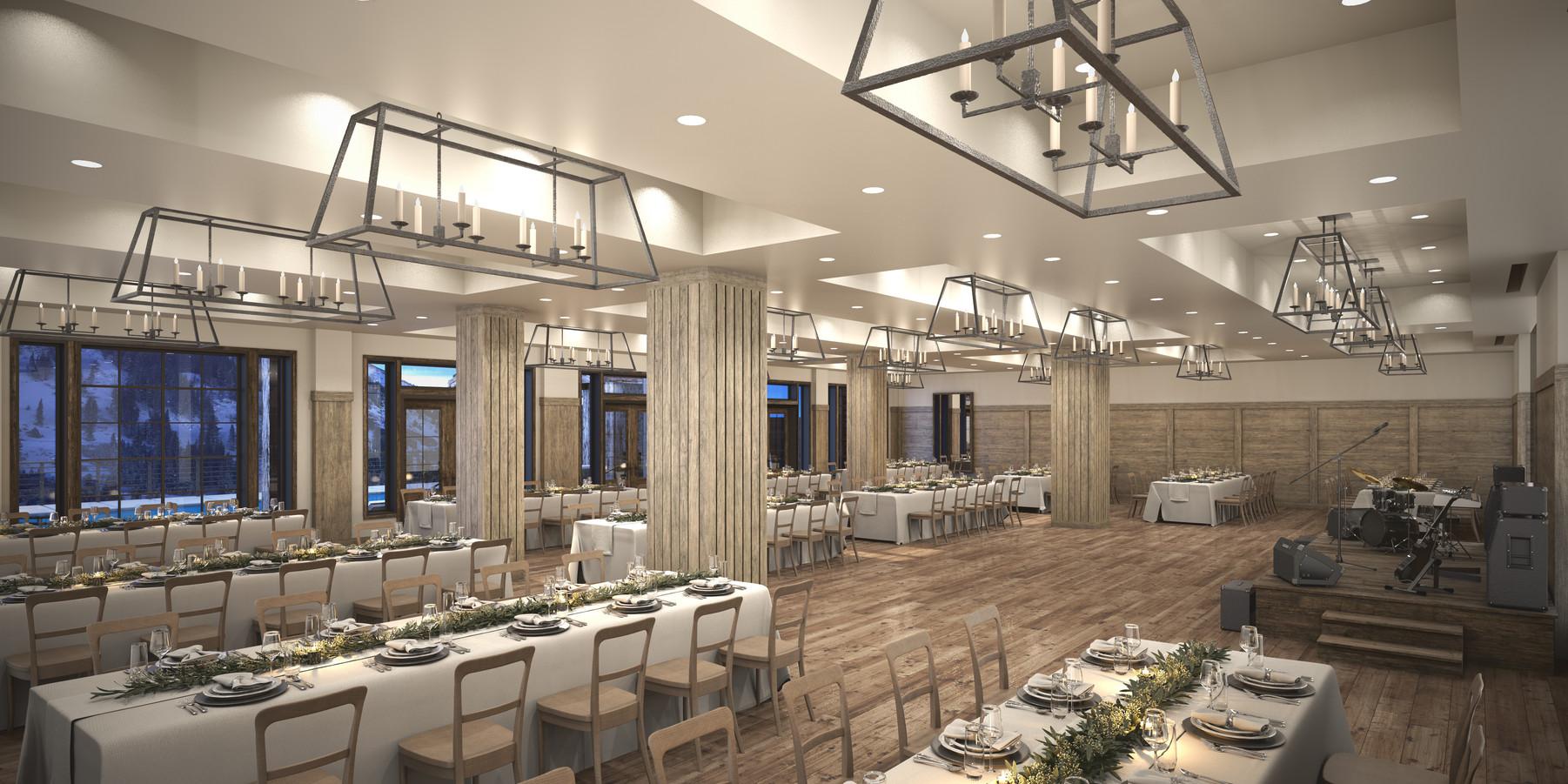 The Snowpine Lodge Ballroom