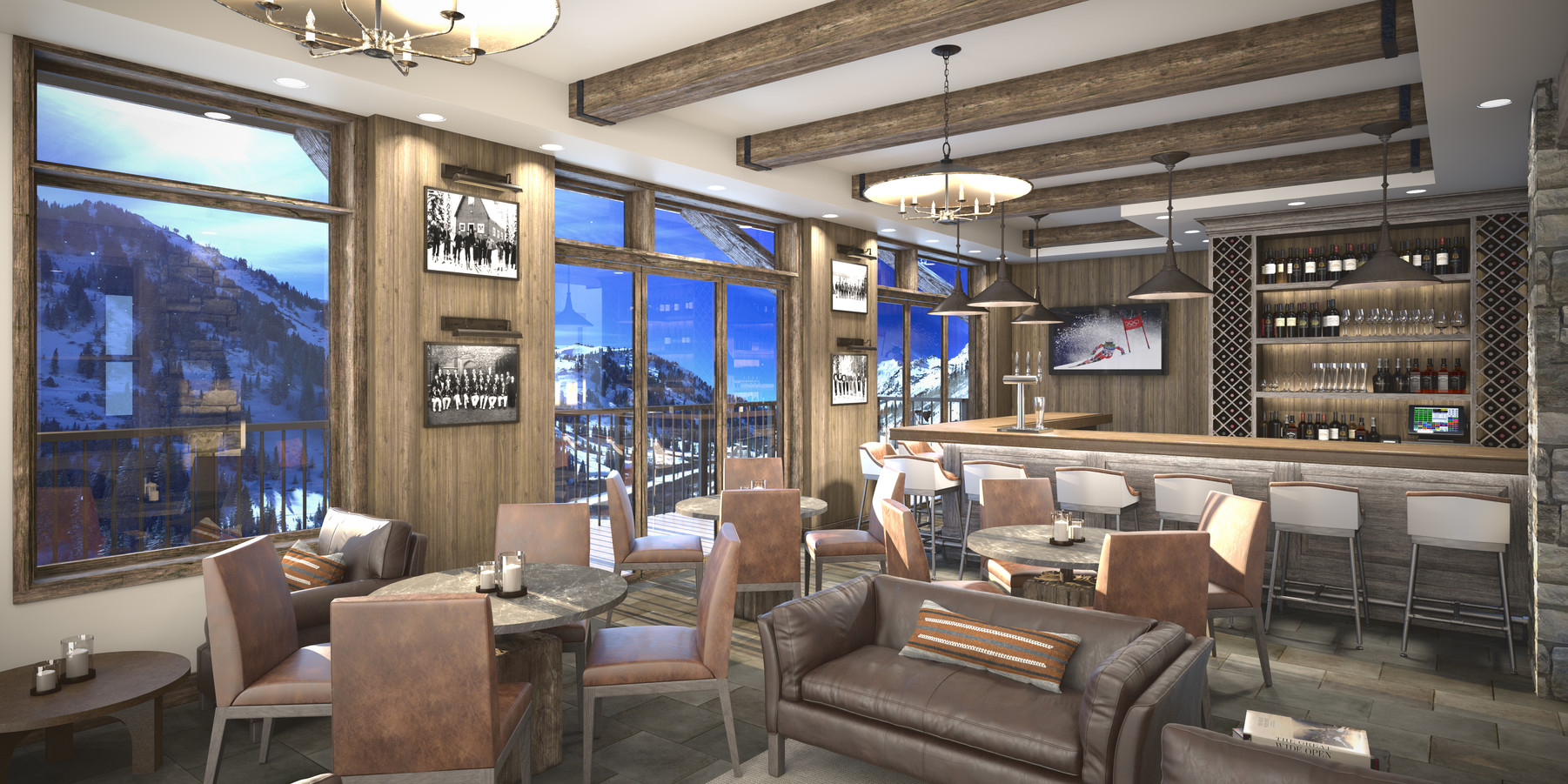 The Snowpine Lodge Bar