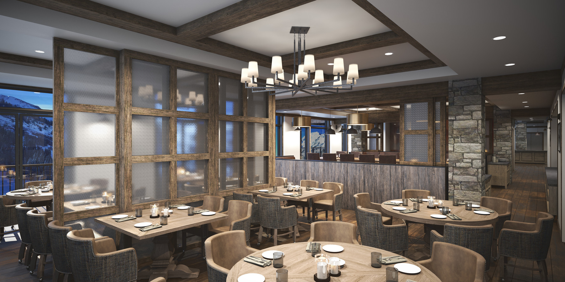 05.The Snowpine Lodge Private Dining