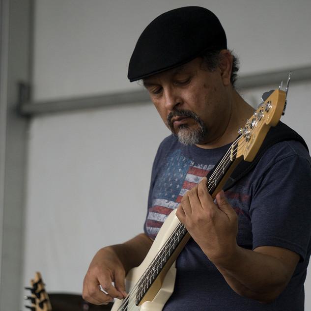 Martin playing the bassics