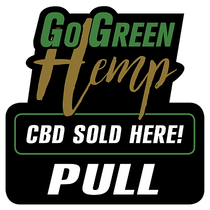 GoGreen Hemp Pull Sticker For Door