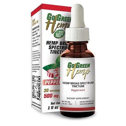 GoGreen Hemp Peppermint Oil Tincture