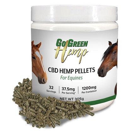 CBD Hemp Horse Pellets For Equines
