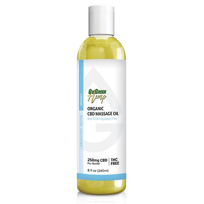 Organic CBD Massage Oil
