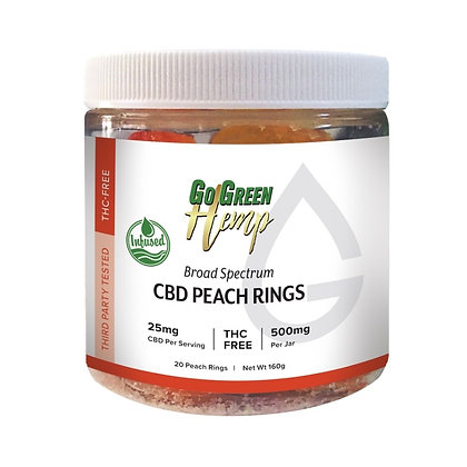 CBD Peach Rings