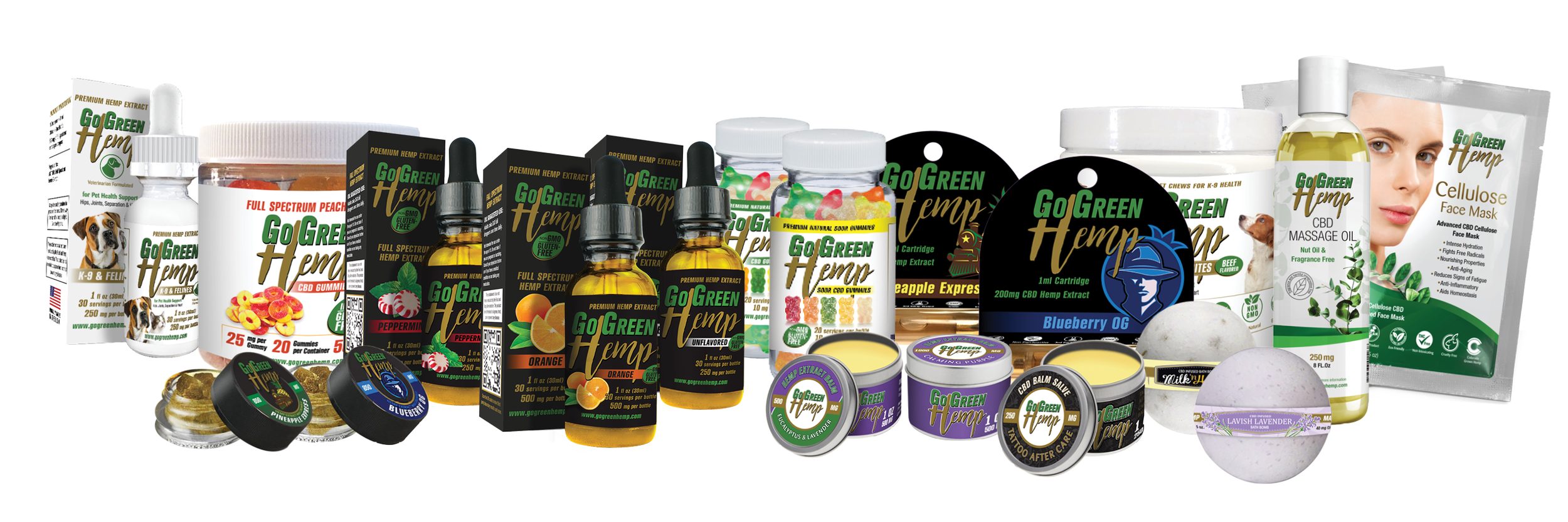 GoGreen Hemp | One Stop Shop For Everything CBD