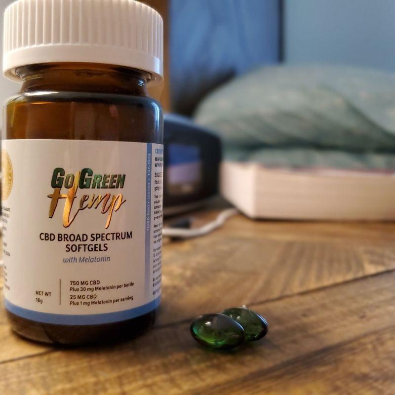 CBD Melatonin Sleep Capsules