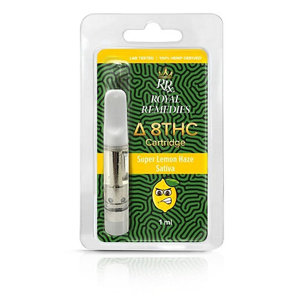 Delta 8 THC Super Lemon Haze Cartridge