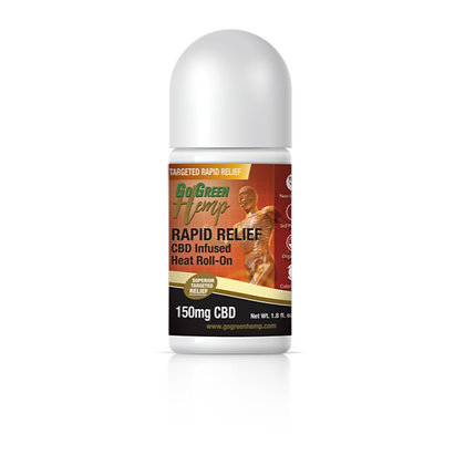 CBD Infused Heat Roll-On 150mg