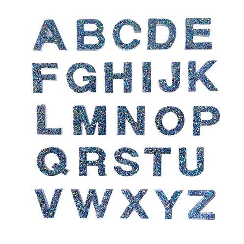 Resin Alphabet Letter Set - Lagoon