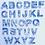 Thumbnail: Resin Alphabet Letter Set - Starry Night