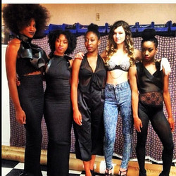 Modestia fashion show  all my models.  Photoshoot coming soon....