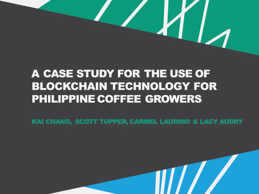 A Case Study for the Use of Blockchain Technology for Philippine Coffee Growers