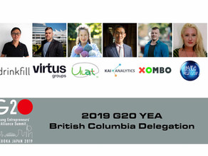 6 British Columbians are Representing Canada at the 2019 G20 Young Entrepreneurs' Alliance