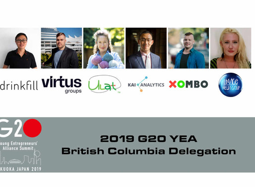 Six British Columbians are Representing Canada at the 2019 G20 Young Entrepreneurs' Alliance